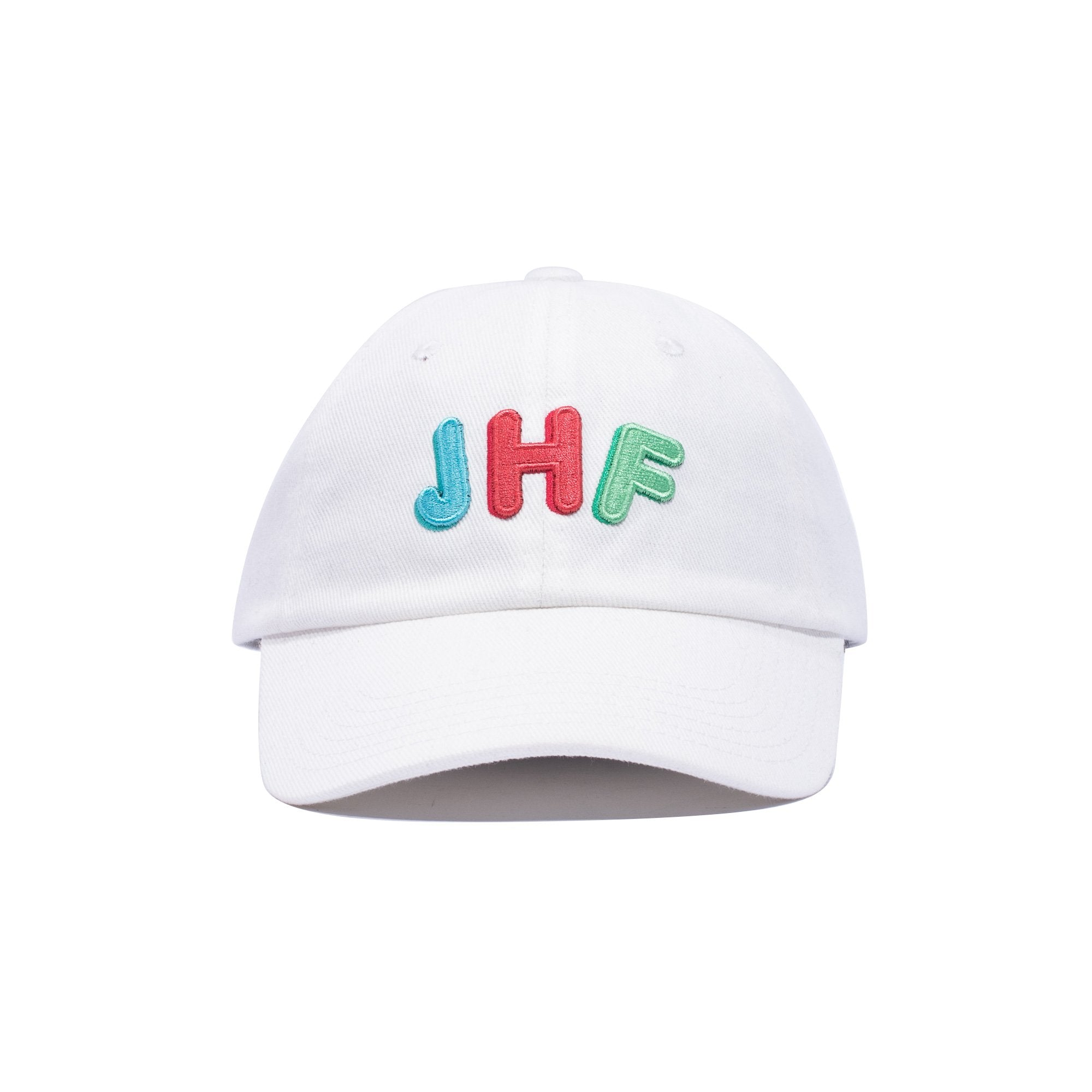 Hold Up Dad Hat White