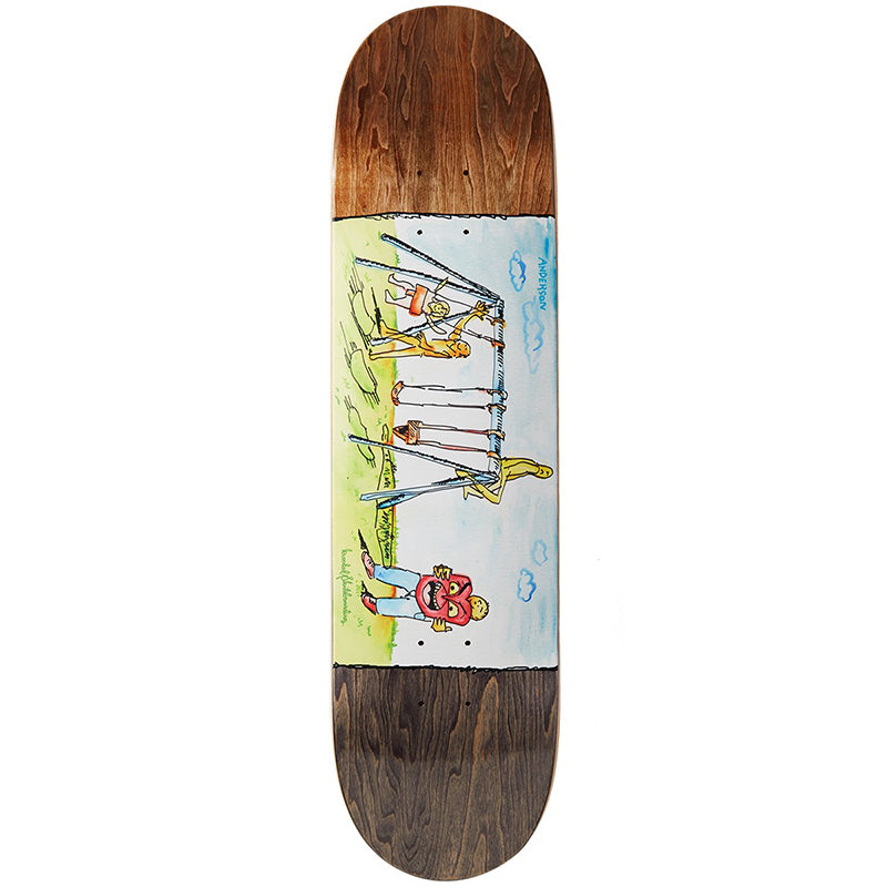 "Mike Anderson Swingin 8.06"" Skateboard Deck"