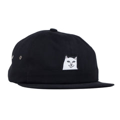 Icon snapback cap Black White