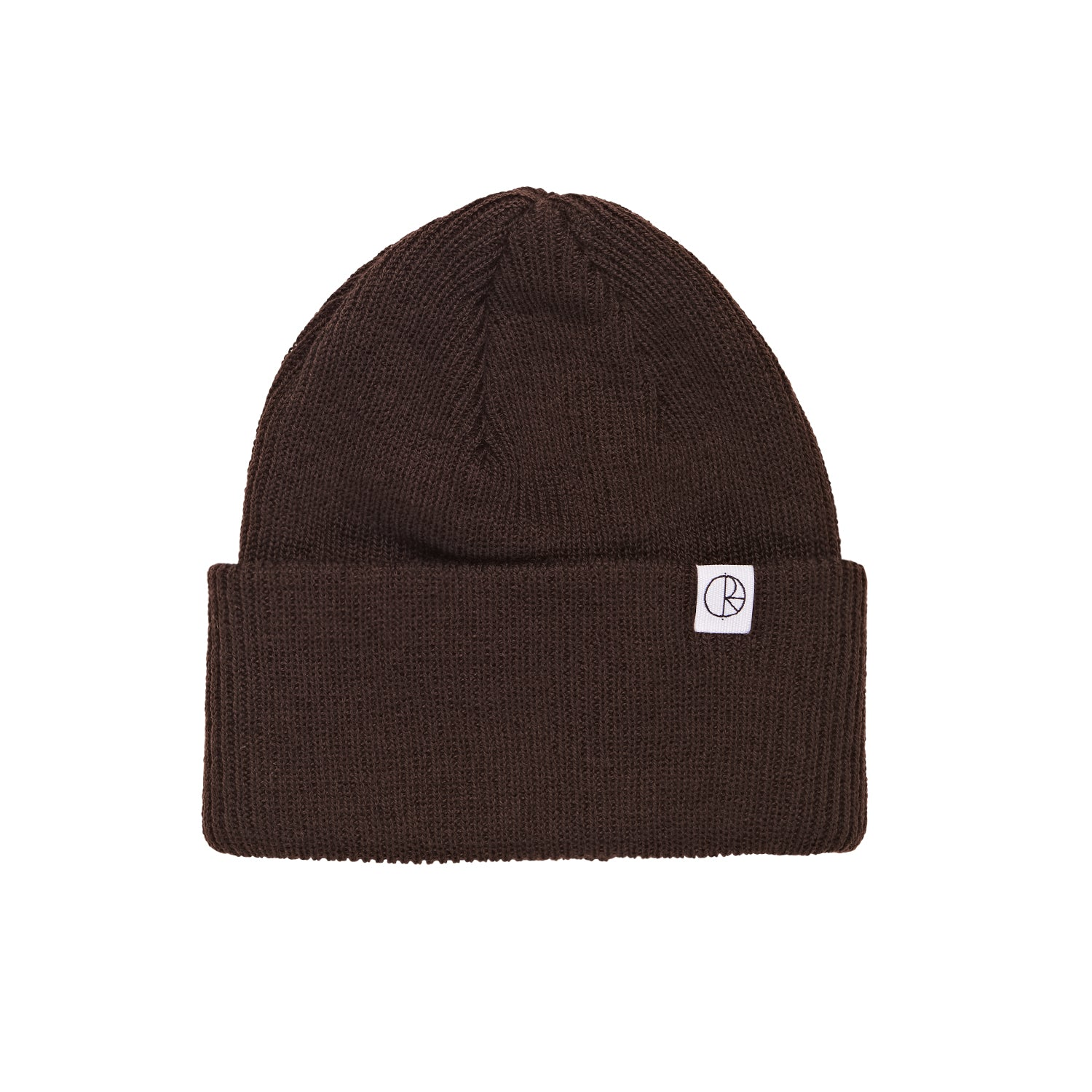 Merino Wool Beanie Brown
