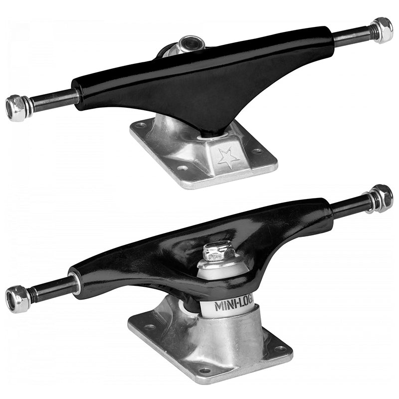 "Split Black 8.0"" Skateboard Trucks"