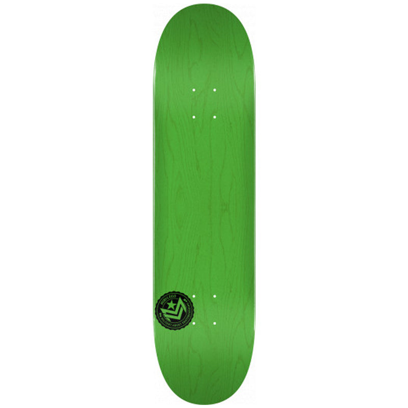 "Chevron Stamp 2 Shape 244 8.5"" Skateboard Deck Green"