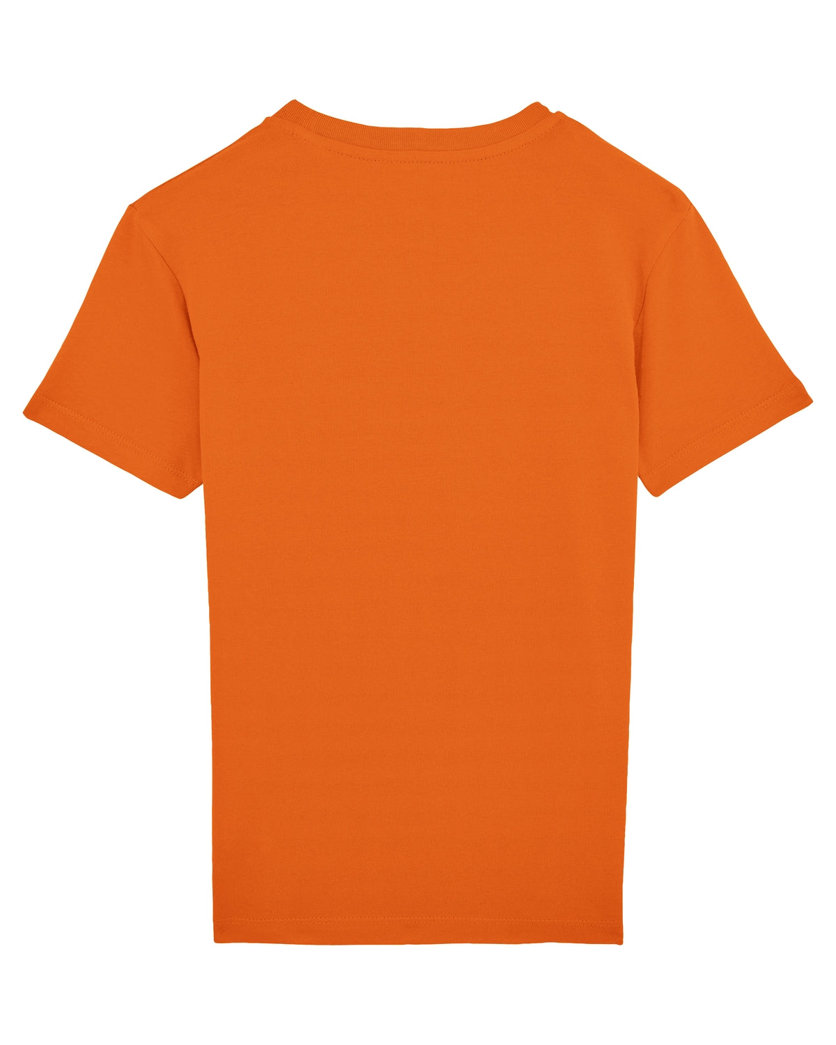 White Script Orange t-shirt