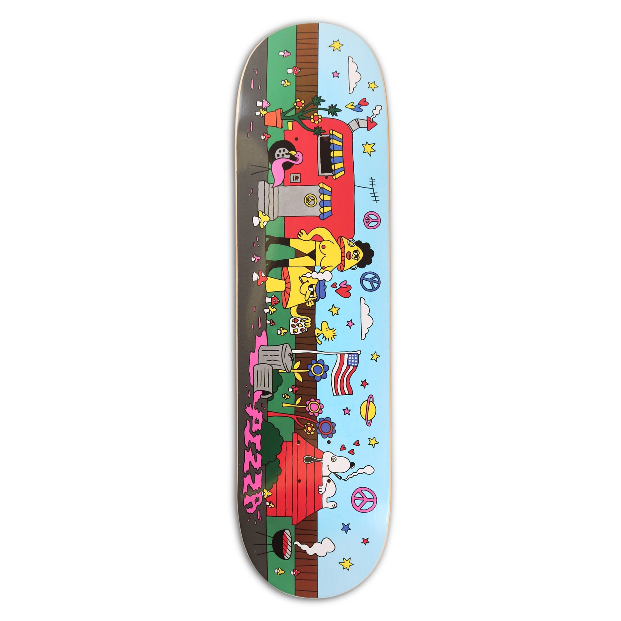 "Florida Multicolored 8.38"" Skateboard Deck"