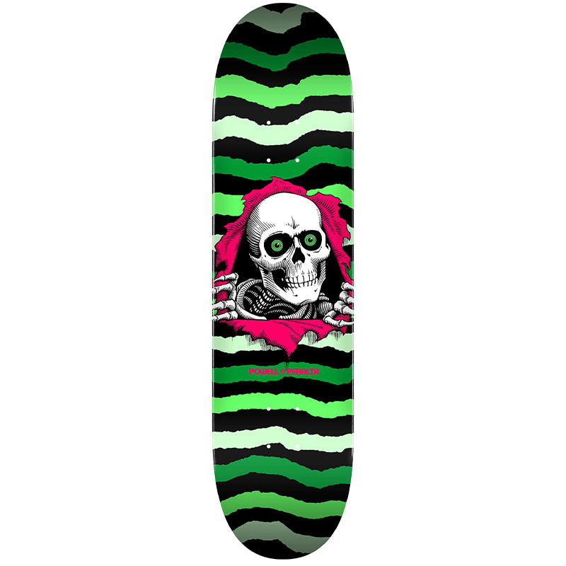 "Ripper Green 245 8.75"" Skateboard Deck"