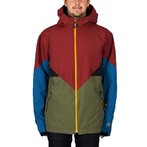Premiere Riding Jacket Base Green/Noble Maroon/Real Teal/Collegiate Gold