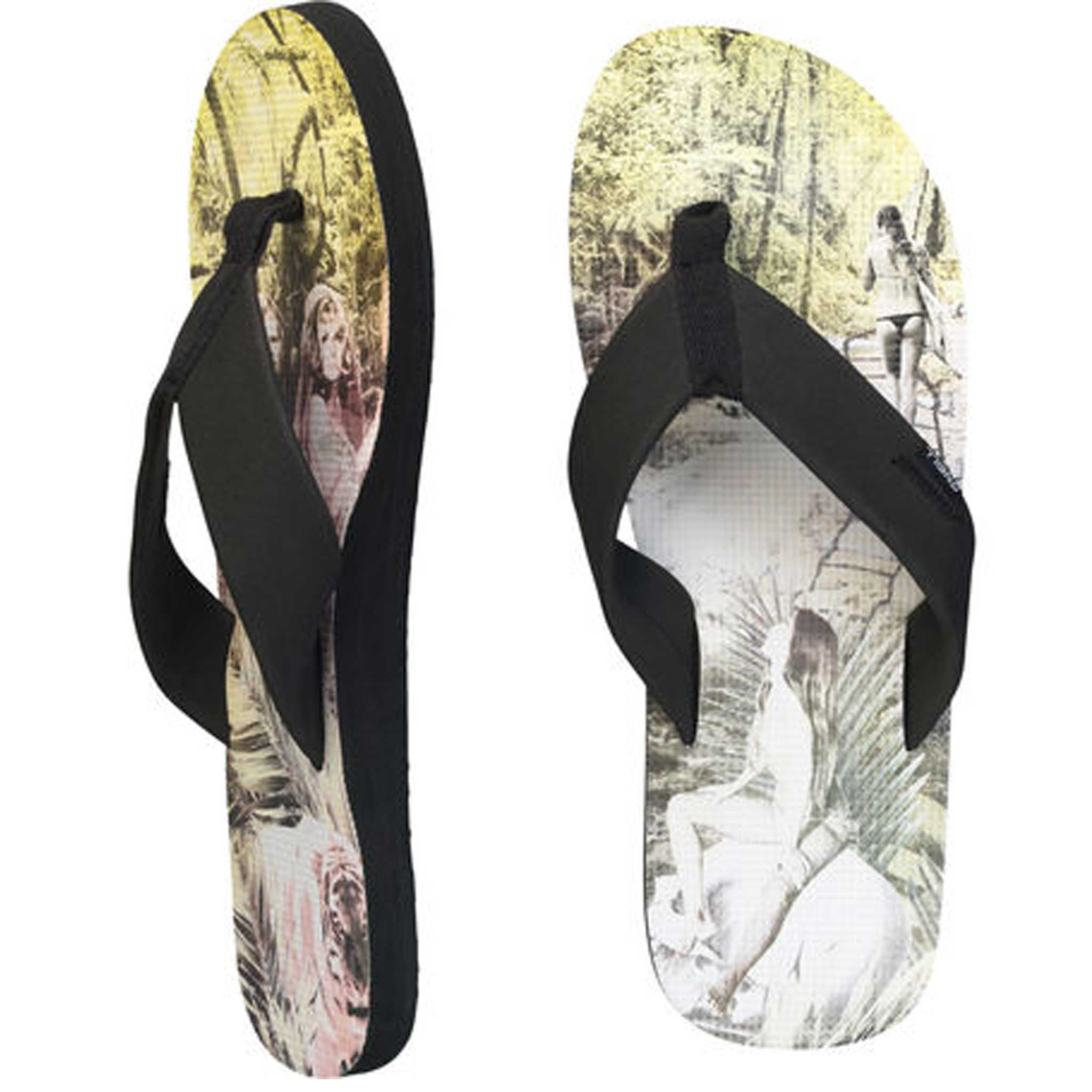 Profile Pattern Byron Beige slippers - Stoked Boardshop