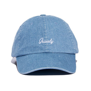 Late to the Game Dad Hat Washed Denim