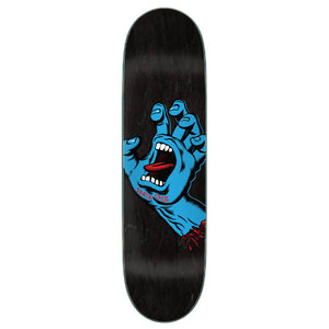 "Screaming Hand Black 8.625"" Skateboard Deck"