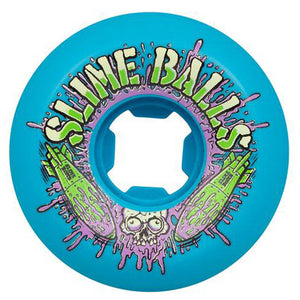 Slime Balls Bomb Speed Balls 99a Blue 56mm Skateboard Wheels