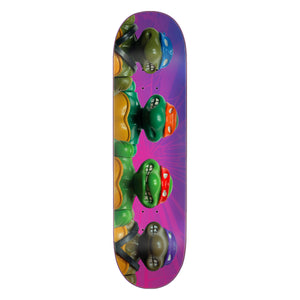 "TMNT Figures Everslick 8.5"" Skateboard Deck"