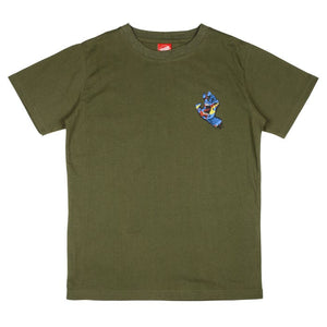 Kids Primary Hand T-Shirt Olive