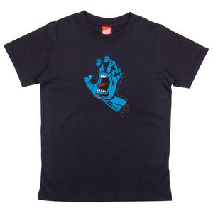 Kids Screaming Hand T-Shirt Black