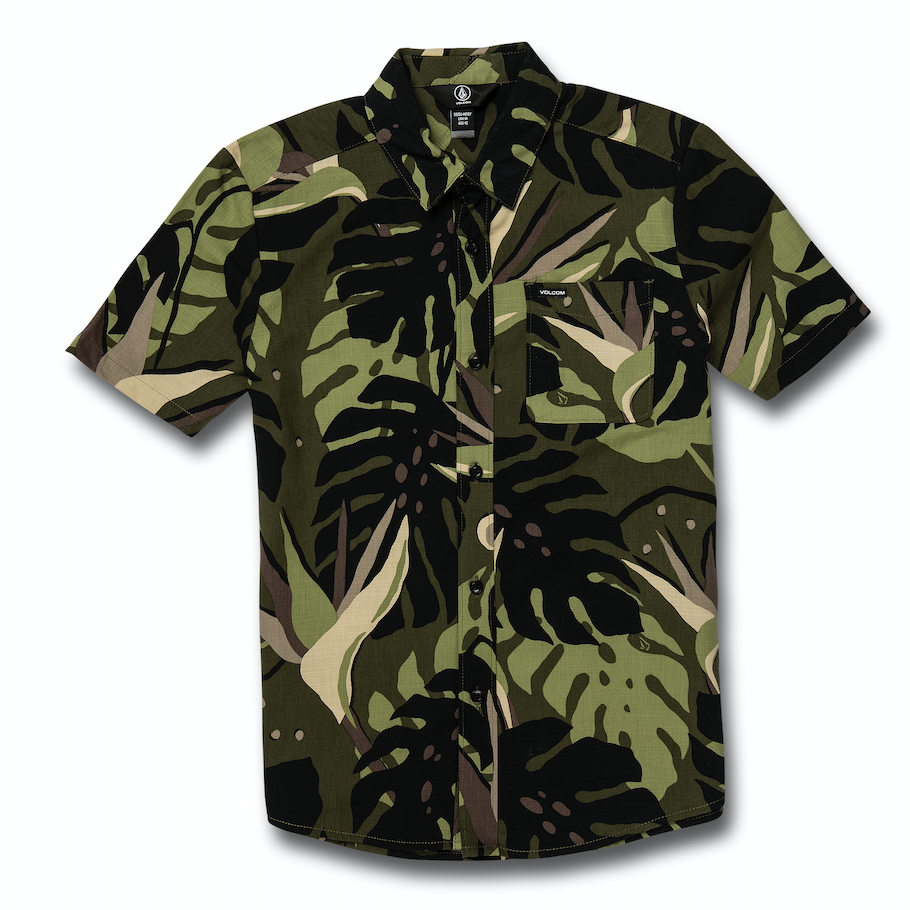 Youth Mentawais Shirt Military