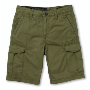 Youth Miter II Cargo Short Army Green Combo
