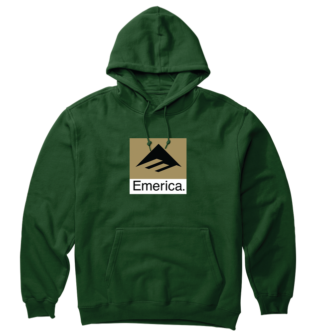 Youth Classic Combo Hoodie Green