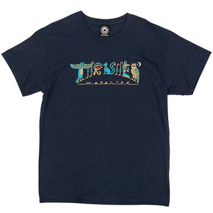 Hieroglyphic T-shirt Navy Blue