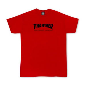 Youth Skate Mag T-shirt Red