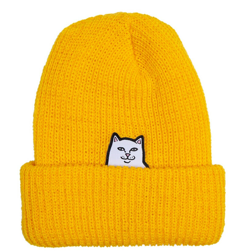 Lord Nermal Rib Beanie Gold