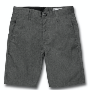 Kids Frickin Chino Short Charcoal Heather