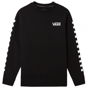 Kids Exposition Check Crew Sweatshirt Black