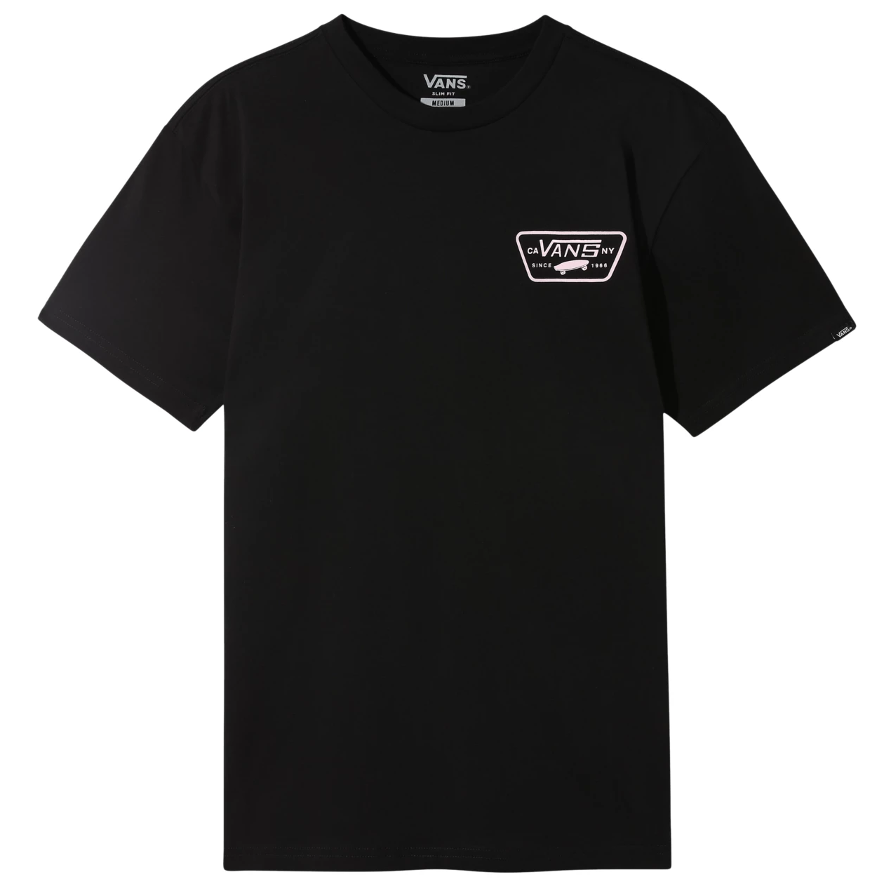 Full Patch Back Tee Black/ Vans Cool Pink