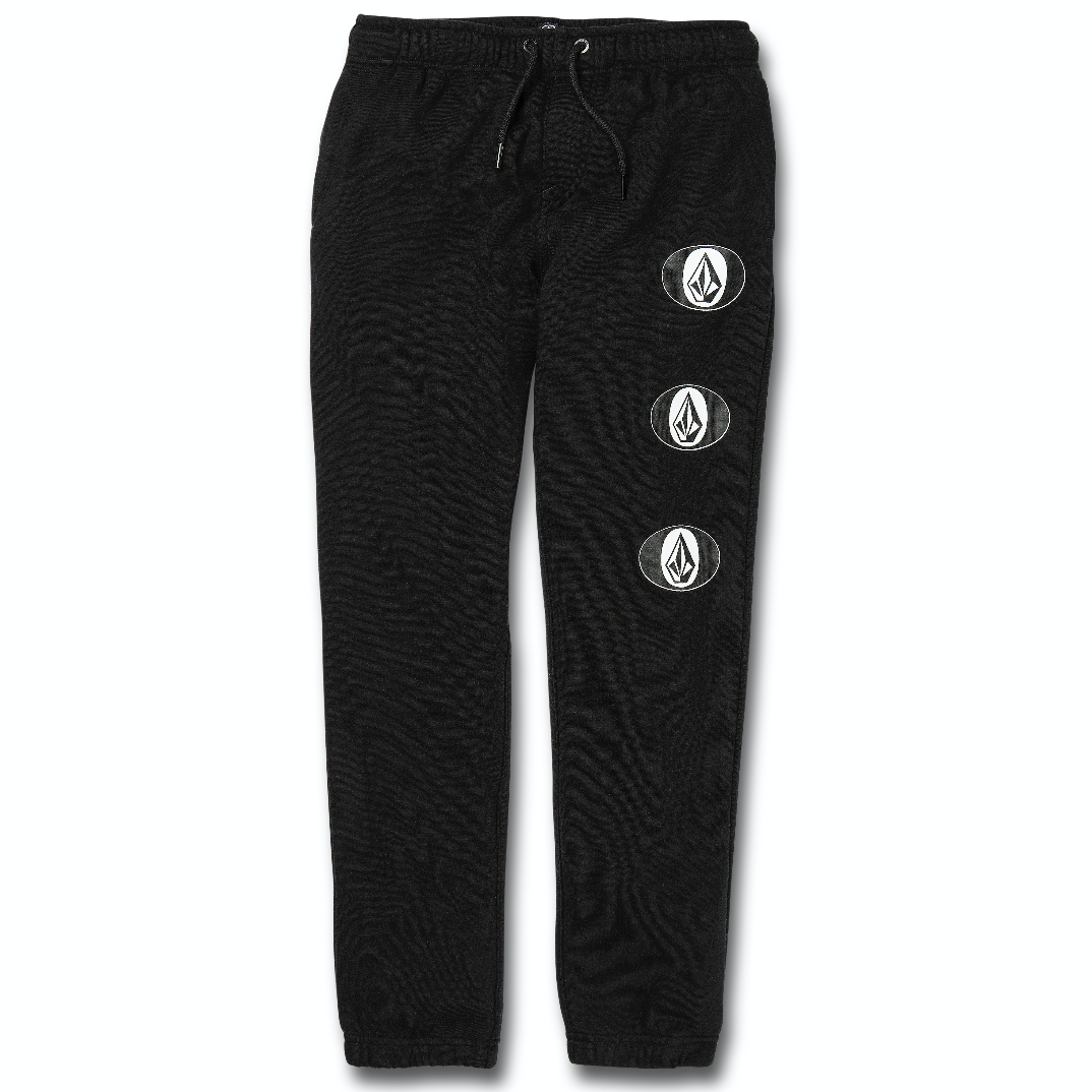 Kids Stone Stack Fleece Pant Black