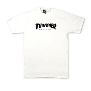 Kids Skate mag t-shirt White - Stoked Boardshop