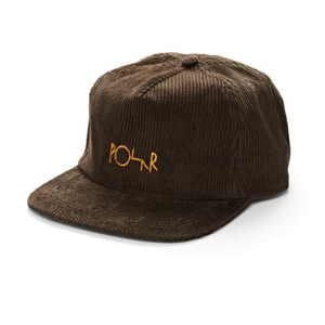 Cord 5-panel Cap Brown