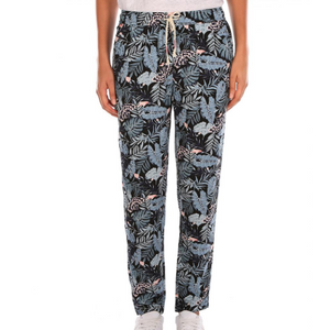 Womens Hula Pants Dark Steel