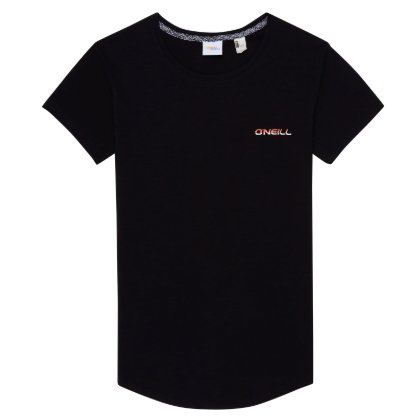 Womens Surf Avenue T-shirt Black Out