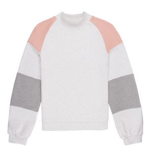 Womens Kamui Colours Sweatshirt White Pink-Purple