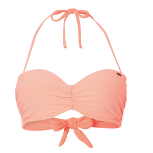 Womens Havaa Mix Top Bikini Neon Peach