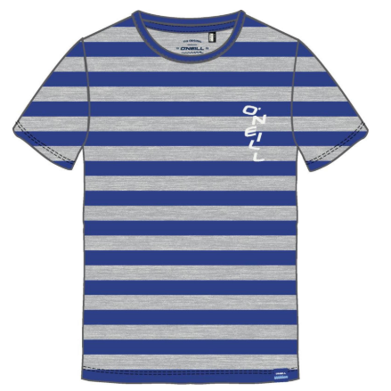 Youth Striped T-shirt Blue