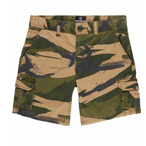 Youth Cali Beach Cargo Shorts Green