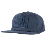 Reserve embossed snapback cap Dark Navy Blue