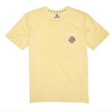 Simons Pigment Dye Tee Dusty Yellow