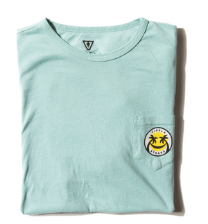 Solid Sets Vintage Wash Pocket Tee Jade