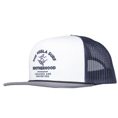 Youth Stamped Cap Ink Blue