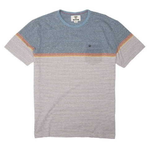 Dreamland Knit Tee Breaker Blue Heather