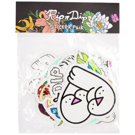 Rip N Dip Sticker Pack Spring 2019