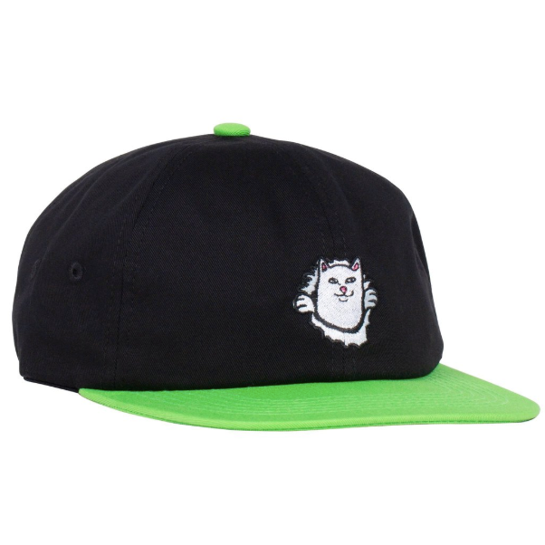 Nermamaniac 6 Panel Black / Green