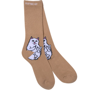 Lord Nermal Socks Tan