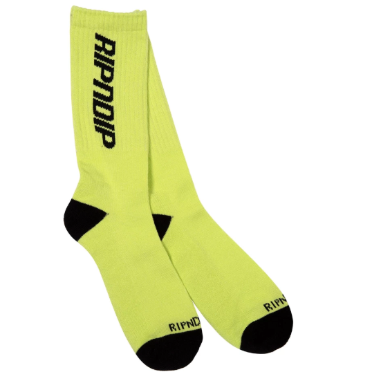 Field Socks Neon