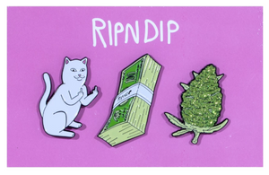 Pu$$y, Money, Weed Pin (Set Of 3)