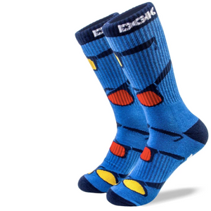 Shades Crew Socks Blue