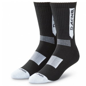 Step Up Sock Black/ White