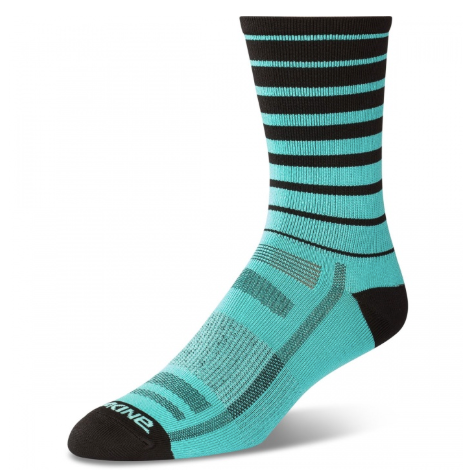 Singletrack Sock Electric Mint Stripe