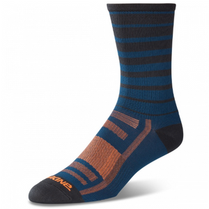 Singletrack Sock Slate Blue Stripe