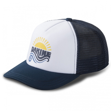 Womens Sun Wave Trucker India Ink